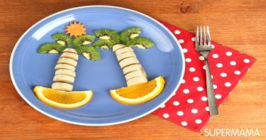 أشكال مرحة لطعام الأطفال 2