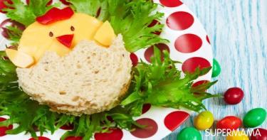 أشكال مرحة لطعام الأطفال 3