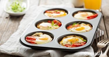 سحور 5 مافن بيض