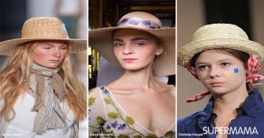 موضة ارتداء القبعة 2