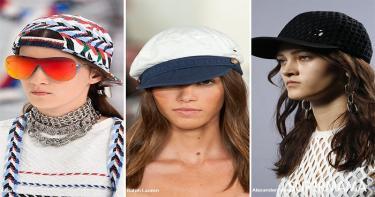 موضة ارتداء القبعة 1
