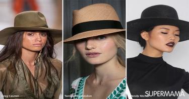 موضة ارتداء القبعة 3