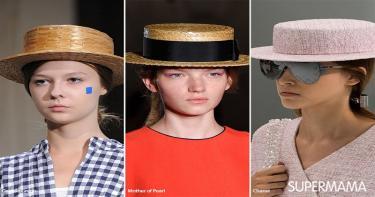 موضة ارتداء القبعة 5