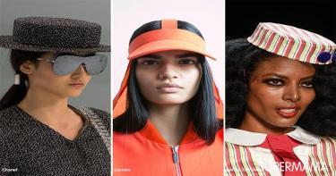 موضة ارتداء القبعة