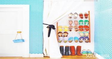 أفكار-مختلفة-لتنظيم-الأحذية-بدون-جزامة-2