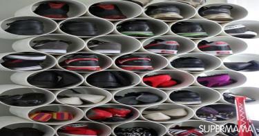 أفكار-مختلفة-لتنظيم-الأحذية-بدون-جزامة-6