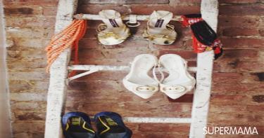 أفكار-مختلفة-لتنظيم-الأحذية-بدون-جزامة-7