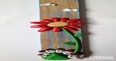 أعمال فنية بأحجار الشواطئ 3