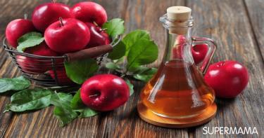 وصفات للتغلب على رائحة العرق خل التفاح 3