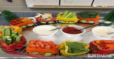 أفكار تقطيع الخضروات 1