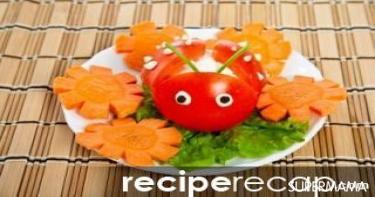 أفكار تقطيع الخضروات 2