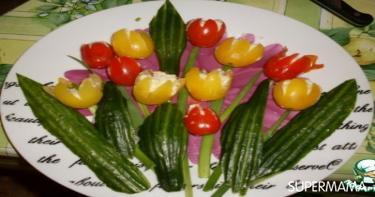 أفكار تقطيع الخضروات 5