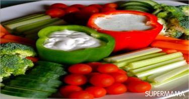 أفكار تقطيع الخضروات 7