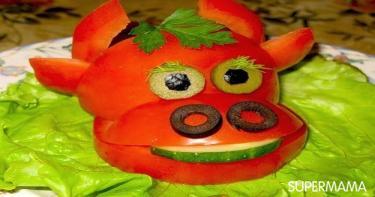 أفكار تقطيع الخضروات 10