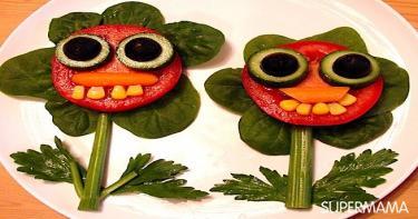 أفكار تقطيع الخضروات 11
