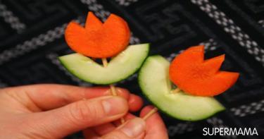 أفكار تقطيع الخضروات 14