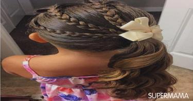 تسريحات شعر للمدرسة 1