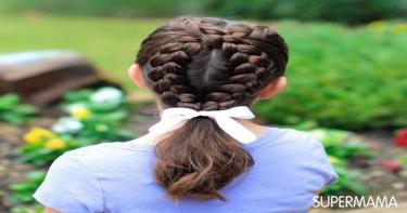 تسريحات شعر للمدرسة 4