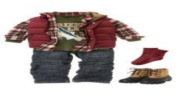أفكار ملابس شتوية لأطفالكِ 6