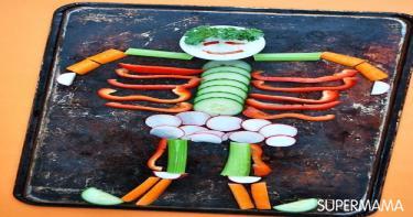 تقديم الخضروات بطرق مبتكرة 2