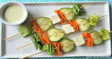 تقديم الخضروات بطرق مبتكرة 3