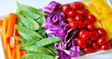 تقديم الخضروات بطرق مبتكرة 6