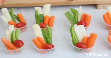تقديم الخضروات بطرق مبتكرة 8