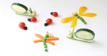 تقديم الخضروات بطرق مبتكرة 12