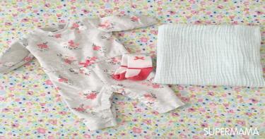 مستلزمات حقيبة الرضع في الشتاء - طقم ملابس كامل بديل