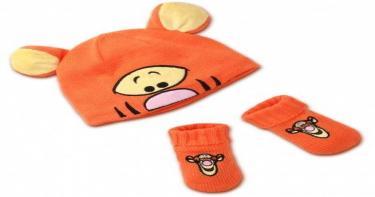 مستلزمات حقيبة الرضع في الشتاء - أيس كاب وقفازات