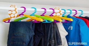 أفكار مبتكرة لتنظيم دولاب طفلك 3