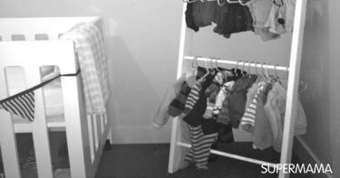 أفكار مبتكرة لتنظيم دولاب طفلك 7