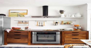 مطبخ مرتب ومنظم