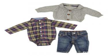 بالصور: 9 قطع ملابس خروج للأطفال 4
