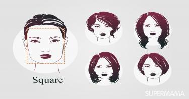 ربطات حجاب تناسب الوجه المربع 6