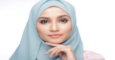 ربطات حجاب تناسب الوجه المربع 7