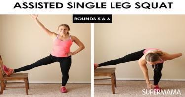 تمارين بسيطة ومفيدة باستخدام الكرسي 4