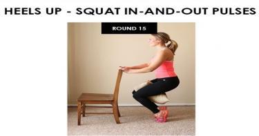 تمارين بسيطة ومفيدة باستخدام الكرسي 11