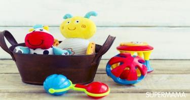 ألعاب للأطفال تحت سن العام 4