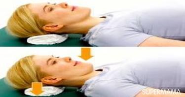 6 تمرينات أساسية لآلام الرقبة 6