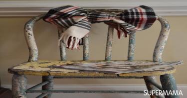 حوّلي الطرح القديمة لتحف فنية في منزلكِ