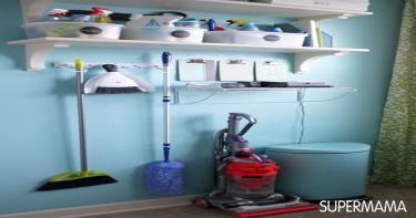 أفكار لتنظيم أدوات النظافة 3