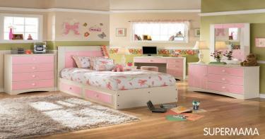 الغرفة الوردية للمراهقات