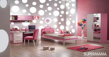 غرفة للفتاة الرومانسية