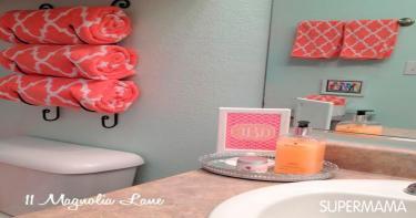 أفكار لتنظيم الحمام 3