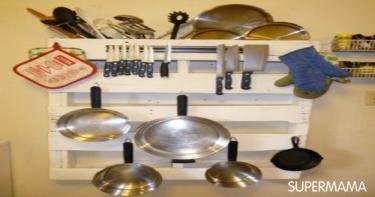 أفكار لصناعة حاملات لأدوات المطبخ