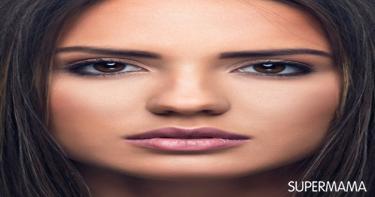 ارسمي عينيك حسب شكل وجهك 1