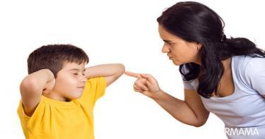 عبارات سلبية للأطفال - الغضب من الطفل