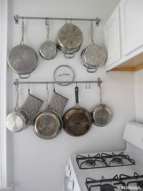 بالصور أفكار متنوعة لتنظيم أواني المطبخ سوبر ماما