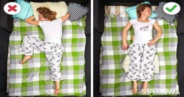 طريقة النوم الصحيحة - علاج آلام الكتفين